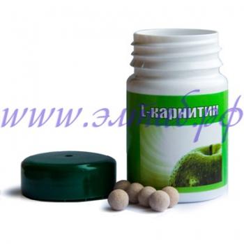 L-КАРНИТИН, 40 ТАБ. по 0,4 гр