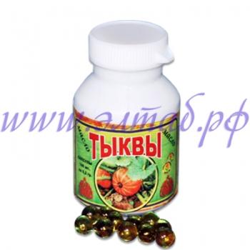 ТЫКВА-масло, 100капс. по 0,2гр